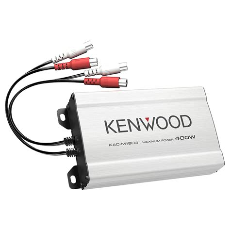 Kenwood Power Lifier Kac X5d 5 Ch Class D kenwood kac m1804 400w max power 4 channel class d compact digital power car lifier at