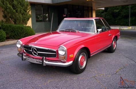 1969 mercedes 280sl mercedes 280sl 1969