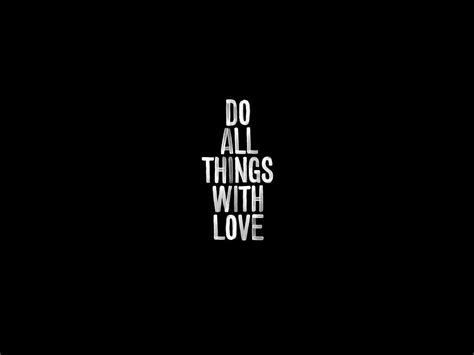love themes be noir motivational wallpaper and background image 1600x1200