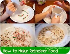 raising memories how to make reindeer food