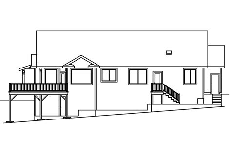 Sloped House Plans by Sloped Land House Plans 28 Images Cottage House Plans