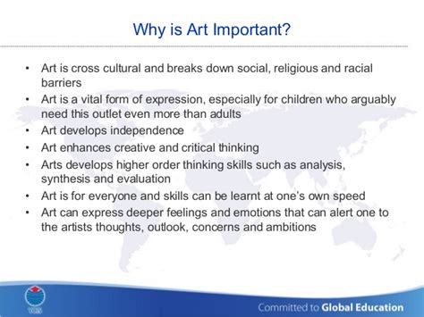 arts education why is it important arts to grow yew chung international school of beijing artistic