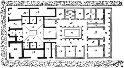 modern roman villa floor plan modern roman villa floor plan the project gutenberg ebook