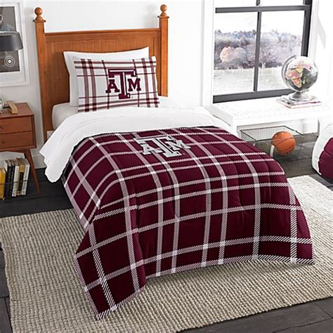texas a m comforter buy texas a m university twin embroidered comforter set
