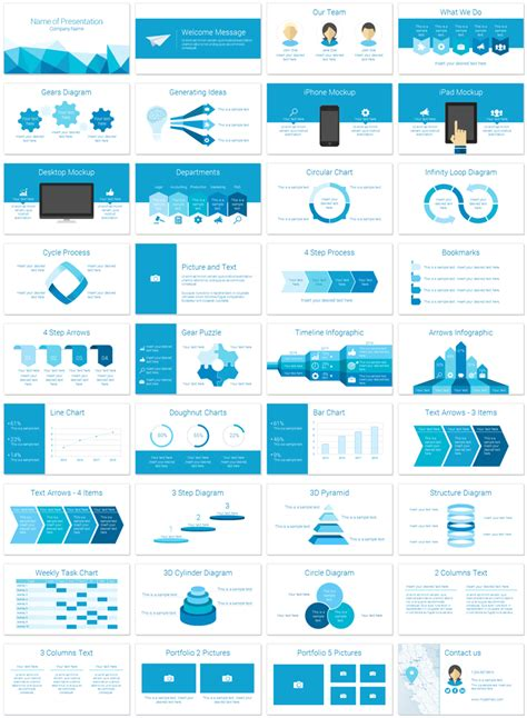slide deck templates polygonal powerpoint template presentationdeck
