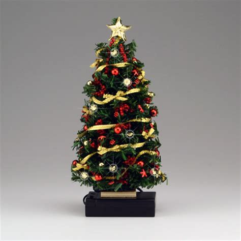 small led christmas tree lighted gold bow tree dhs49144 109 99 miniature designs service