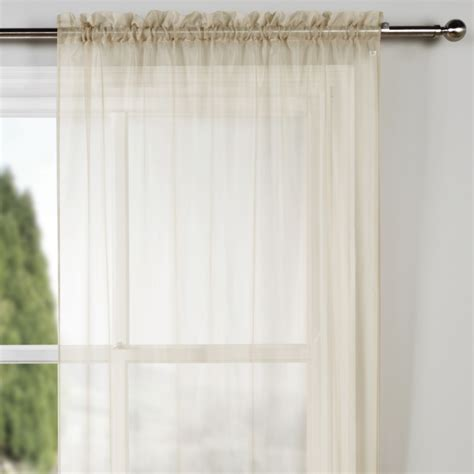 voile curtain panel glacier voile mink panel curtain