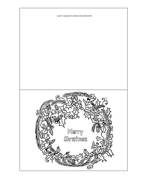 printable christmas cards for students christmas cards for kids to color coloring home