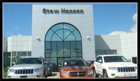 Jeep Dealer Des Moines Stew Hansen Chrysler Jeep Dodge Ram Car Dealership In Des