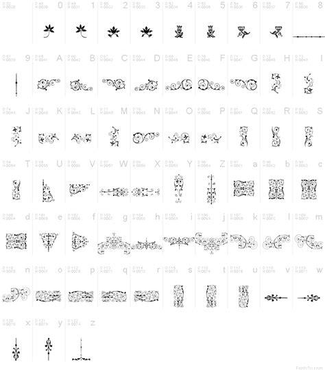 soft typography soft ornaments seven font