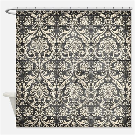 black and white fabric pattern names damask shower curtains damask fabric shower curtain liner