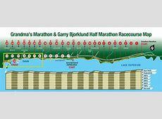 10 Highlights of Grandma's Marathon Weekend - Grandma's ... Grandma's Marathon Course Map