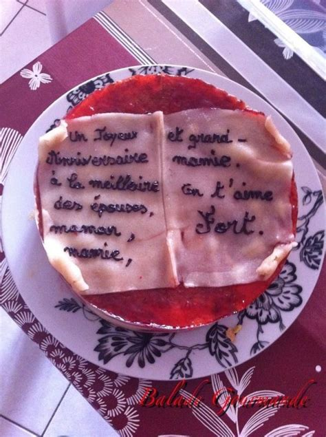 lade anni 60 fraisier joyeux anniversaire balade gourmande