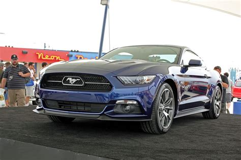 Steve Kia Lima 2014 Mustang 50th Anniversary Celebration Html Autos Weblog