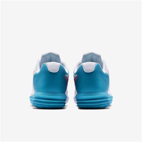 Nike Free Lunar nike mens lunar ballistec 1 5 tennis shoes white blue