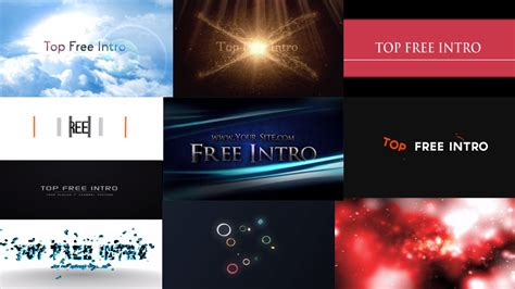 free after effects templates no plugins top 10 free after effects cc cs6 intro templates no