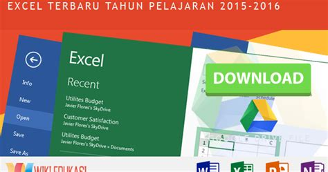 format evaluasi diri sekolah sma 2015 aplikasi raport sma kurikulum 2013 format excel terbaru