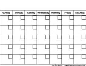 Calendar Empty Empty Calendar