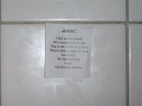 Poems About Bathrooms by Bathroom Poetry Picture Of Portobello Gold Restaurant