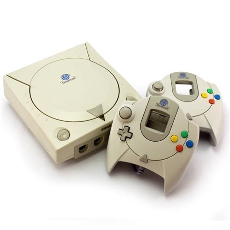 new dreamcast console dreamcast console incl 2 official gamepad equipment
