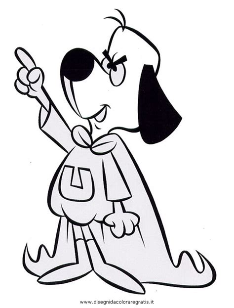 Under Dog Colouring Pages Underdog Coloring Pages