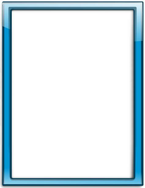 glass frame blue vertical page frames more frames