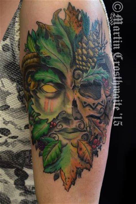 green man tattoo greenman by mxw8 on deviantart