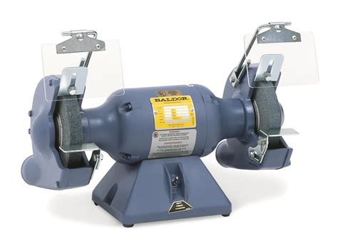 bench grinder guards baldor 7in 1 2hp 3600rpm grinder with exhaust guards ebay