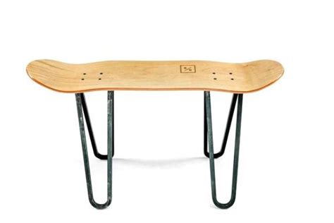 Skateboard Table by Advertisement