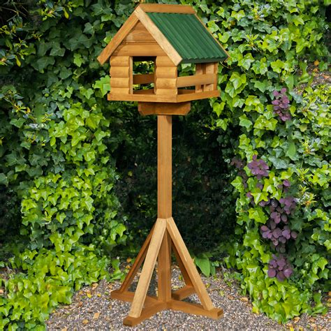 Wooden Rabbit Hutches Home And Roost Fordwich Bird Table