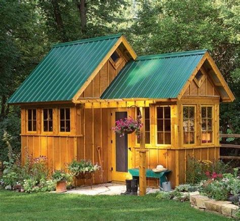 Shed Guest House by Best 25 Backyard Sheds Ideas On Backyard