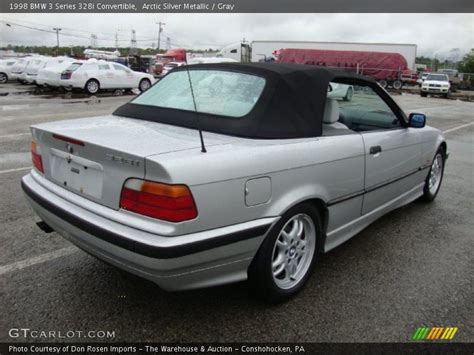 1998 Bmw 328i Convertible by 1998 Bmw 3 Series 328i Convertible In Arctic Silver