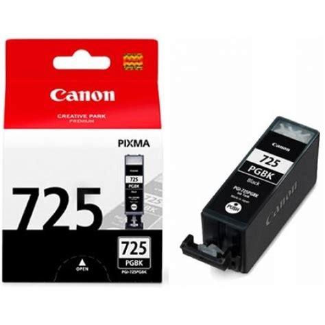Tinta Printer Canon Ori canon pgi 725bk black original distributor tinta printer