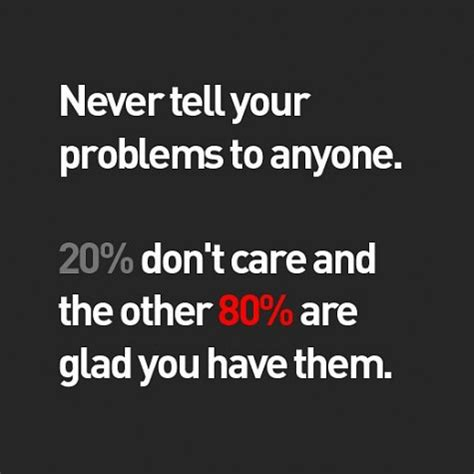 11 Things To Never Tell Your by Daily Quotes Quote About Never Tell Your Problems To Anyone