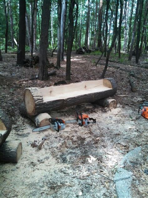 chainsaw bench logs 18 best images about wood carving on pinterest log