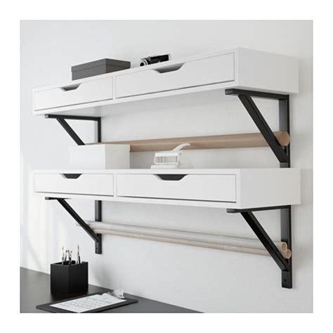 ekby alex kitchen ekby alex ekby valter shelf with drawer white black