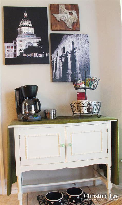 home style coffee bar