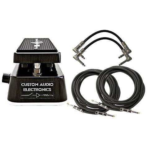 wah dual inductor mod dunlop mc404 cae dual inductor wah pedal bundle reverb