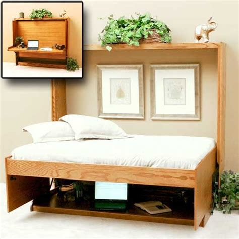 wall bed with desk horizontal wall bed with desk note how everythings stays