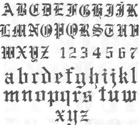 imagenes de letrs goticas 25 best ideas about letras goticas para tatuajes on