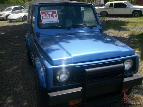 Buy Suzuki Sidekick 1987 Suzuki Samurai Sidekick 4x4 Ready To Drive Buy Me