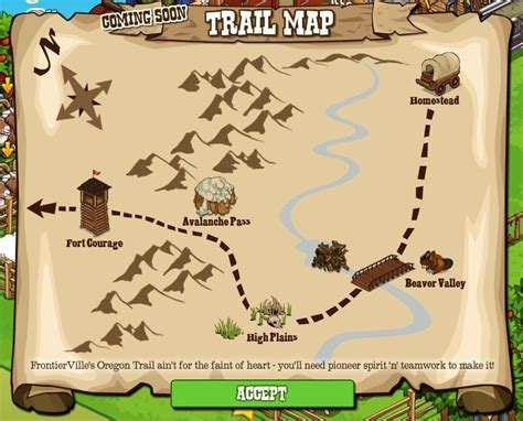 a map of the oregon trail frontierville oregon trail map revealed looks easy enough