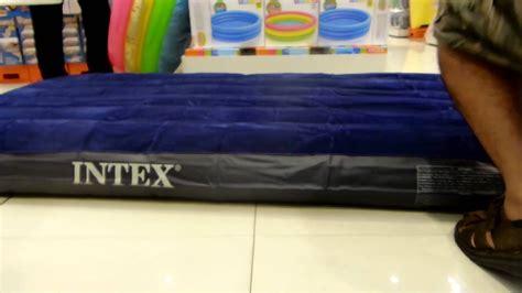 air bed inflate  deflate  airbed  intex sneak peak purchase      video youtube