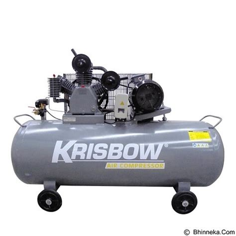 Harga Kompresor 5 Hp jual krisbow air compressor 5 5hp 340l 12bar 380v 3ph