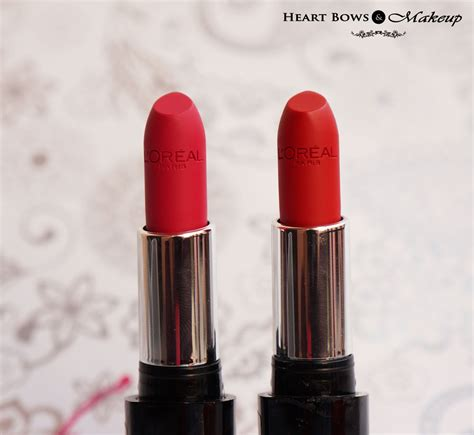 Makeup Loreal l oreal infallible le lipsticks forever fuchsia ravishing review swatches