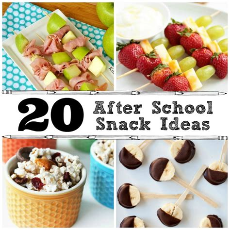 Detox Snack Ideas Fgor School by 20 After School Snack Ideas The Crafted Sparrow