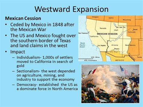 westward expansion and sectionalism standard 2 the impacts of economic developments and