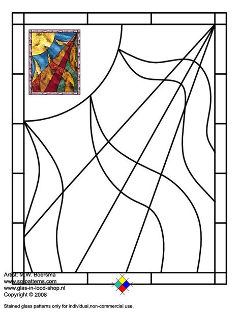 Template Vorlagen Html Stained Glass Patterns For Free Glass Pattern 497