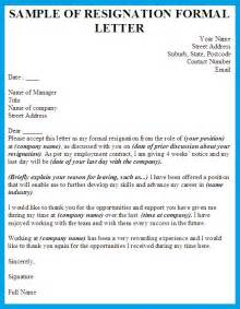 Resignation Letter No Reason Sle Of Resignation Letter With No Reason Docoments Ojazlink