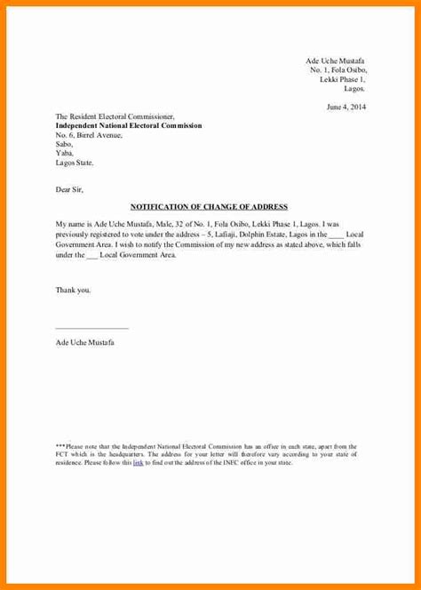 Business Letter Sle Change Of Address Letter Address Template 28 Images Business Letter Template 20 Free Sle Exle Format Address